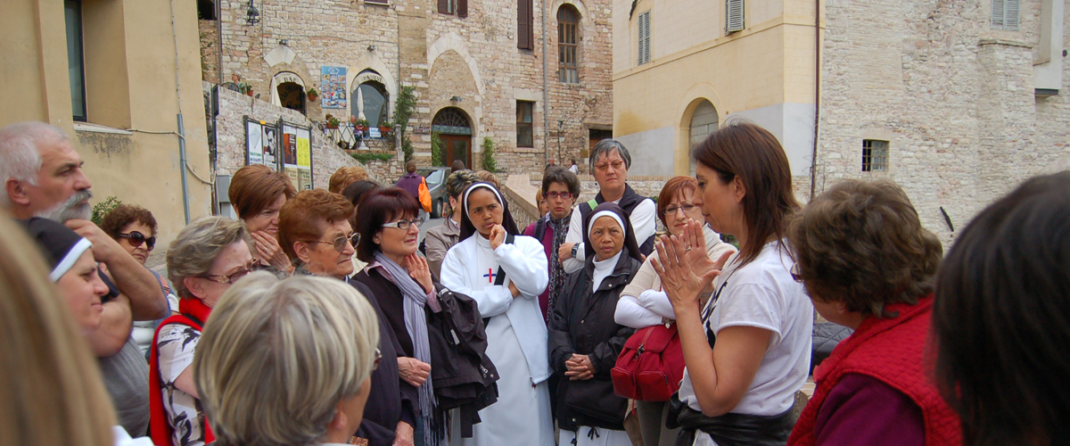 Learn with Daniela in Assisi