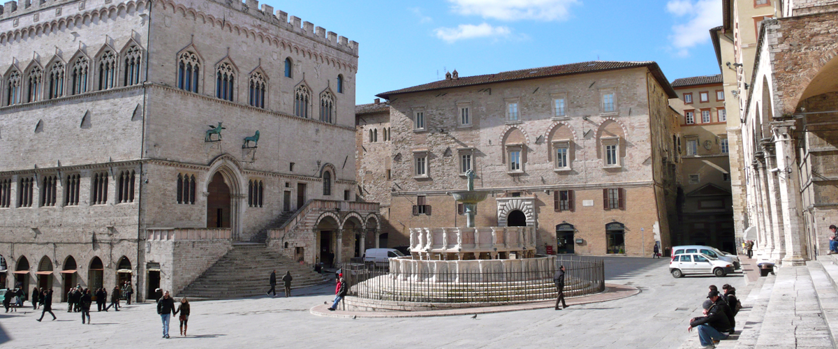 Art History Tours of Umbria's beautiful hill towns